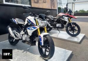 BMW G 310 R and G 310 GS