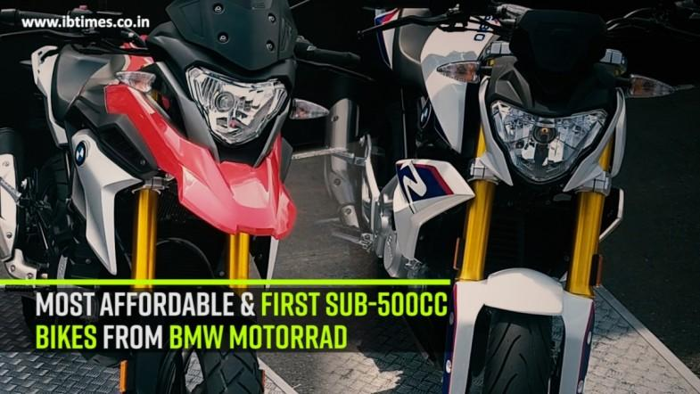Most affordable and first sub-500cc bikes from BMW Motorrad