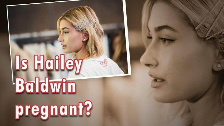 Is Hailey Baldwin pregnant?