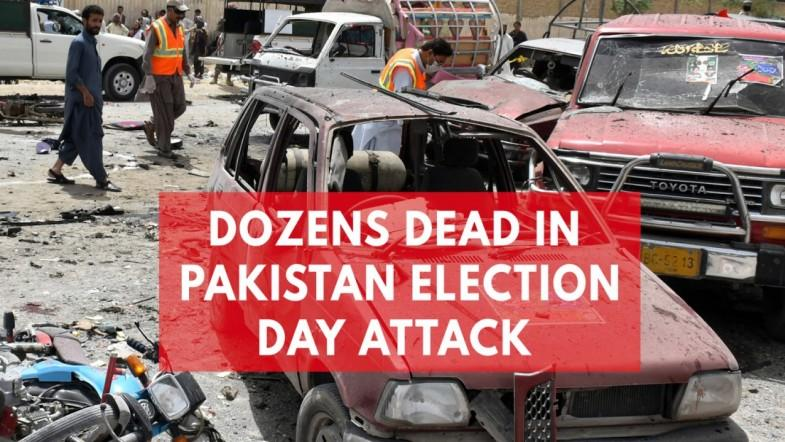 Dozens Killed In Pakistan As Violence Breaks Out On Election Day