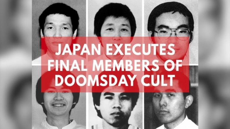 Japan Executes Final Six Cult Members Behind Tokyo Sarin Attack