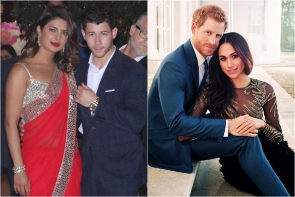 Priyanka Chopra, Nick Jonas, Prince Harry, Meghan Markle