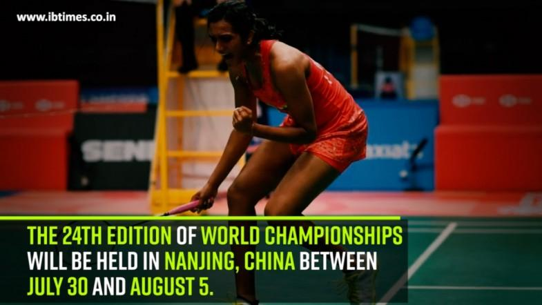 The 24th edition of World Championships will be held in Nanjing, China between July 30 and August 5