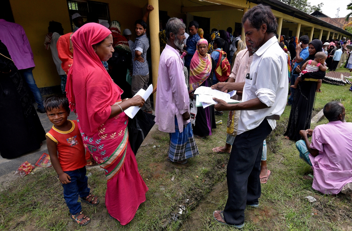 Assam nrc report 289 crore eligible for citizenship 40 lakh names assam nrc report 289 crore eligible for citizenship 40 lakh names not included in draft ibtimes india thecheapjerseys Image collections