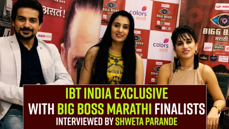 IBT India Exclusive with Bigg Boss Marathi Finalists