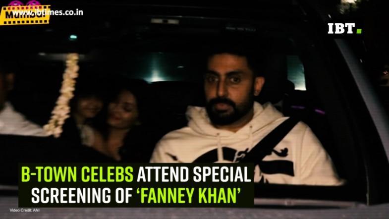 B-town celebs attend special screening of 'Fanney Khan'