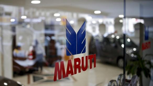 The logo of Maruti Suzuki India Limited