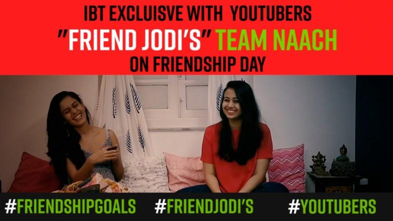 Watch: Team Naach | IBT Exclusive with YouTubers on friendship day