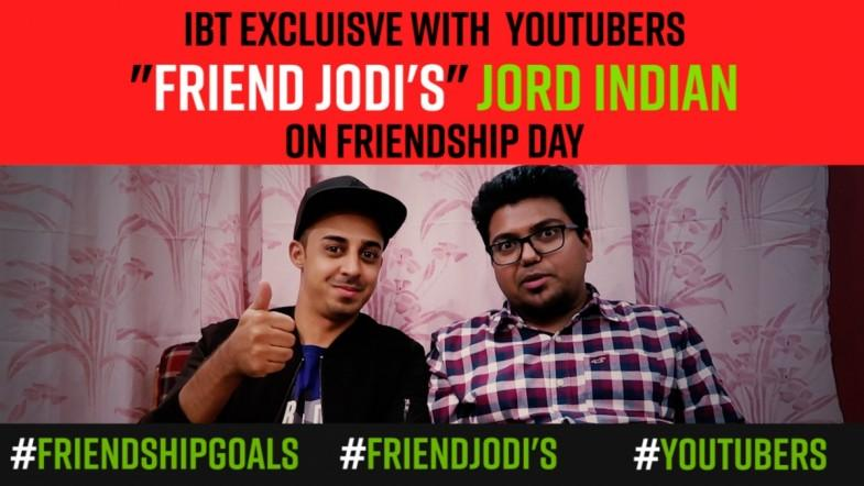 Watch: Jord Indian | IBT Exclusive with YouTubers on friendship day