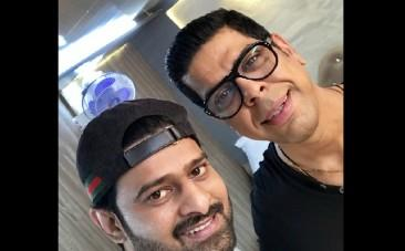 Prabhas with Murali Sharma
