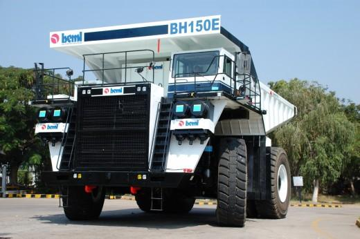 BEML 150T electric dump truck