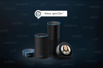 Amazon, Alexa, Cleo, Echo, smart speakers, Hindi, Kannada, Tamil,