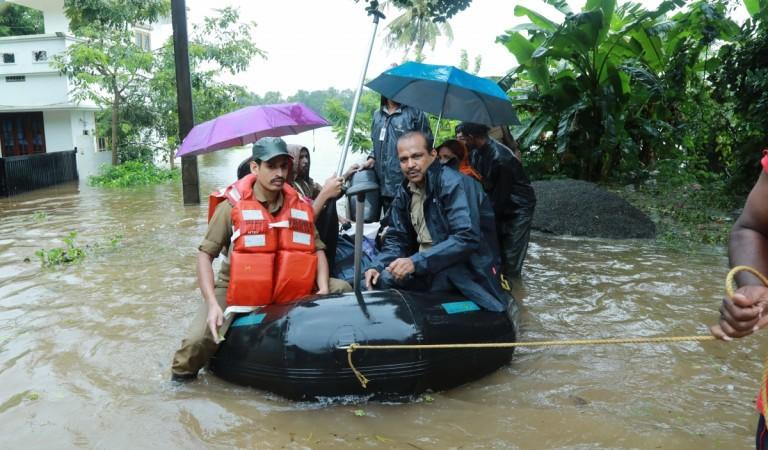 Kerala floods - Muppathadam near Eloor in Kochi's Ernakulam