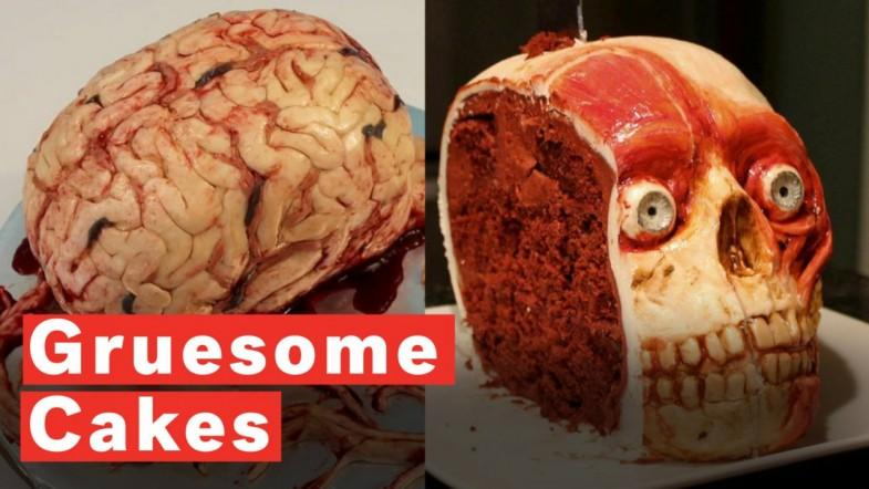These Horrifying Cakes Look Like Human Body Parts