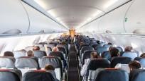 Passenger plane cabin