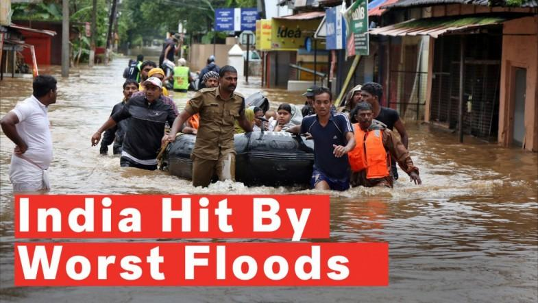 Indias Kerala State Battles Worst Flood In A Century