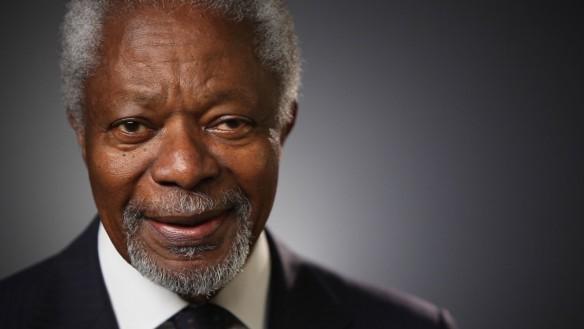 Kofi Annan, the former  UN Secretary General