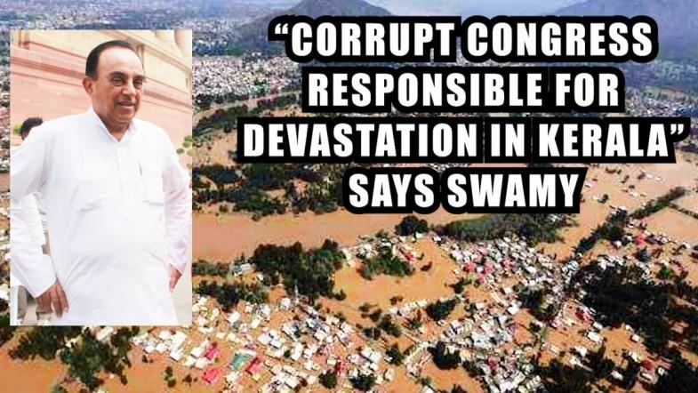 Corrupt Congress responsible for devastation in Kerala