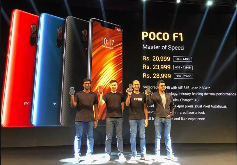 poco f1 with qualcomm snapdragon 845 debuts in india