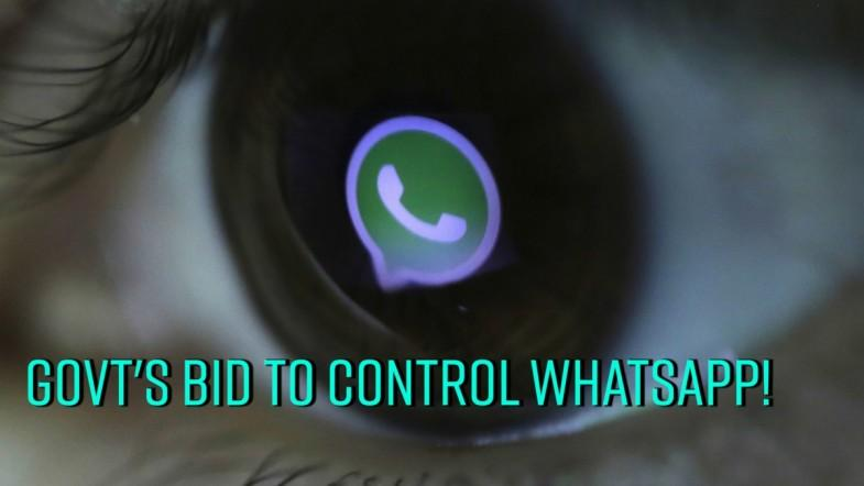Govts bid to control whatsapp!
