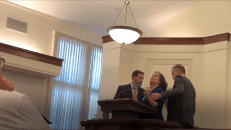 Mormon Woman Names Alleged Rapist In His Own Temple