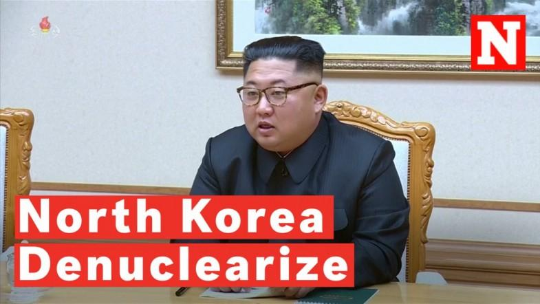 Kim Jong Un Wants To Denuclearize Before Trumps First Term Ends