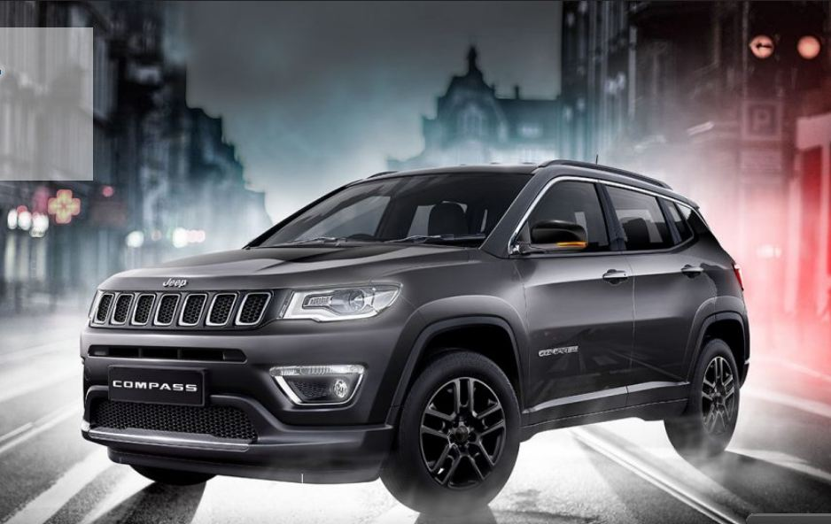 Jeep Compass Black Pack edition details revealed; Limited ...
