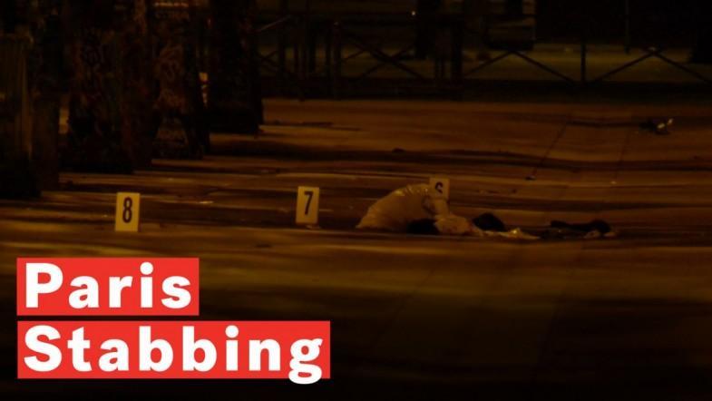Seven Injured In Paris Stabbing