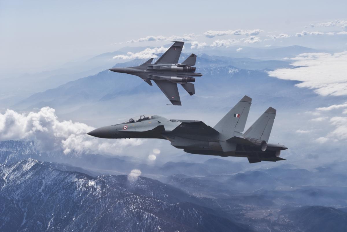Indian airforce Su-30mki