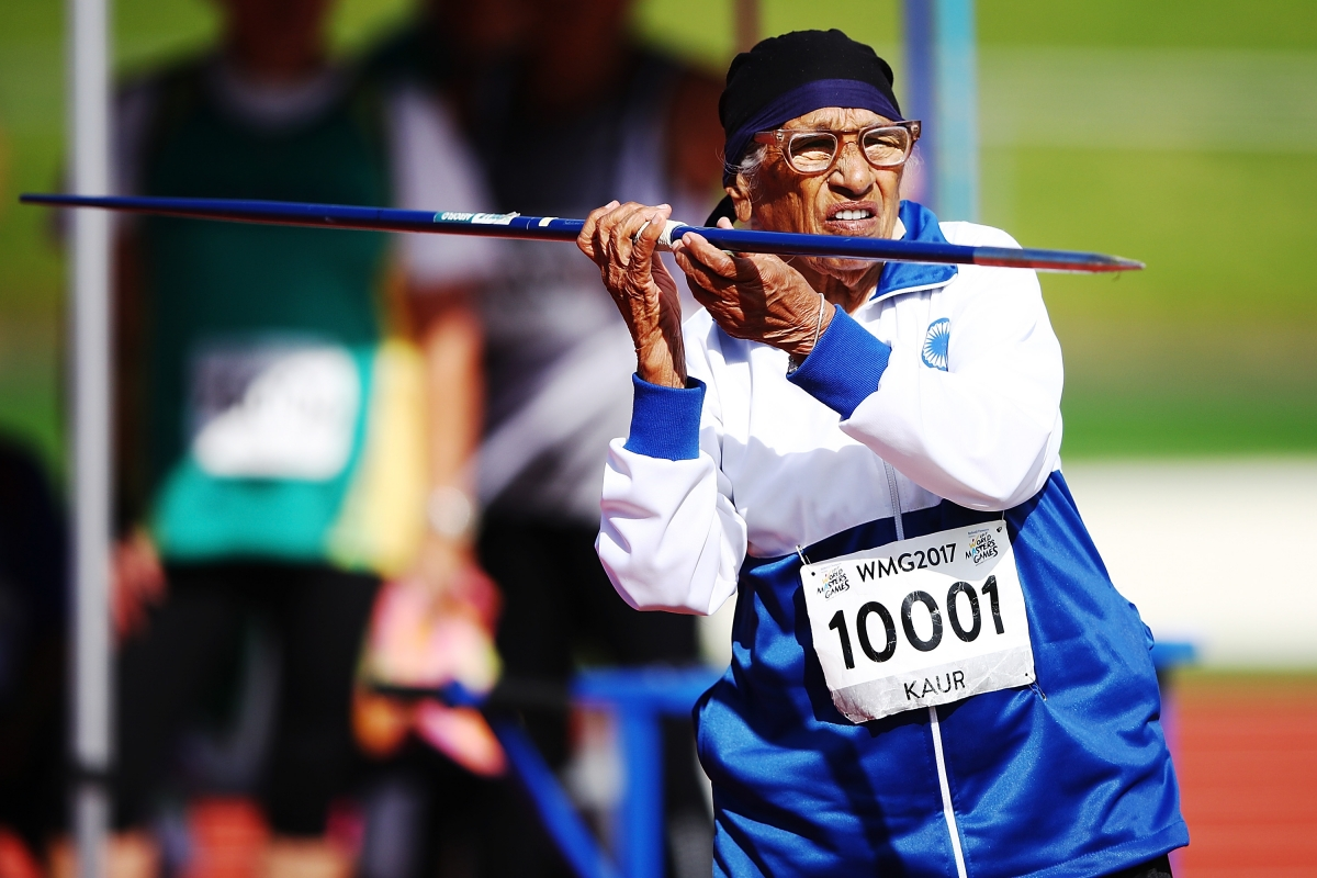 Mann Kaur: 102-year-old 'miracle' woman throws mean javelin, eyes more  athletics medals - IBTimes India