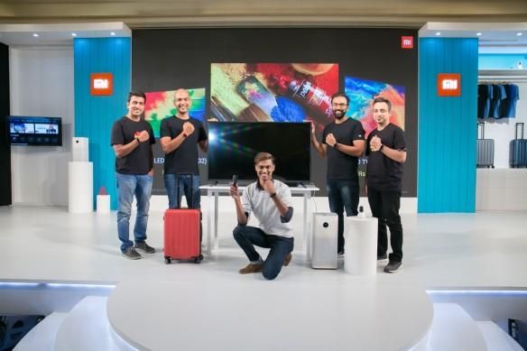 Xiaomi, Mi TV 4A Pro, Mi Air Purifier 2S, Mi Band 3, Mi Home Security Camera 360, Mi Luggage