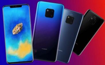 Huawei Mate 20 series leaked
