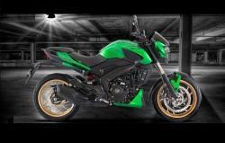 Bajaj Dominar 400 Green edition
