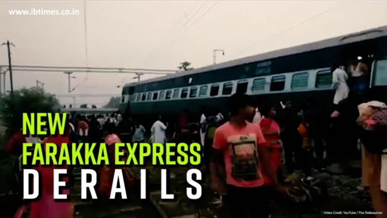 New Farakka Express derailed in Uttar Pradeshs Raebareli