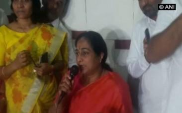 padmini Reddy Congress