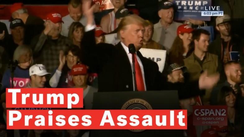 Trump Praises Assault On Reporter