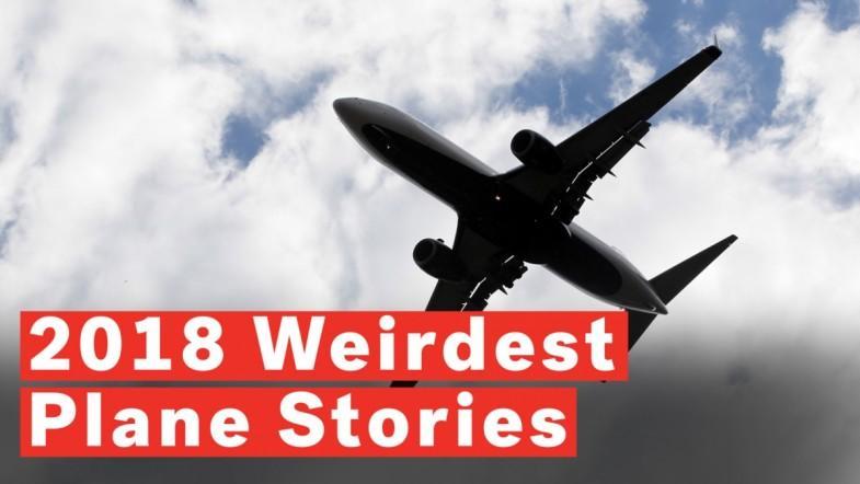 5 Weirdest Plane Stories Of 2018