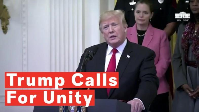 Trump Addresses Suspicious Packages: We Have To Unify, We Have To Come Together