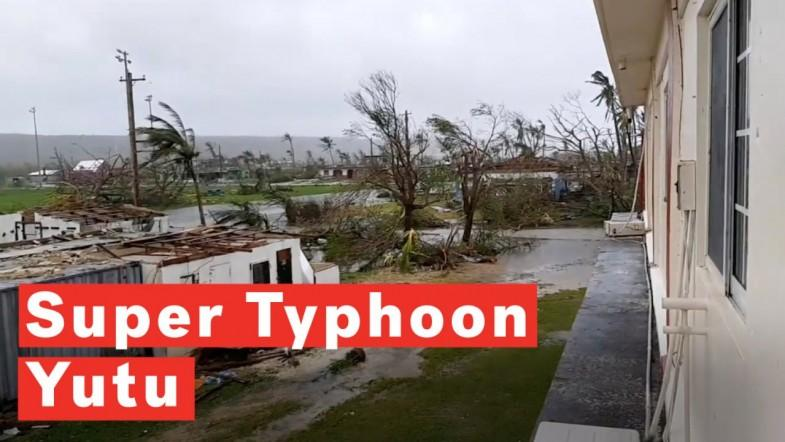 Super Typhoon Yutu Batters US Pacific Territory