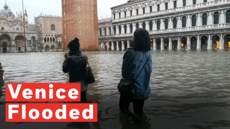 Three Quarters Of Venice Flooded