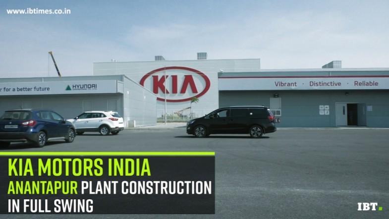 KIA Motors India, Ananthpur Plant Tour