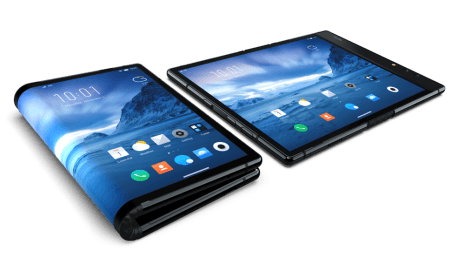 It's a phone. It's a tablet. It's the world's first foldable smartphone
