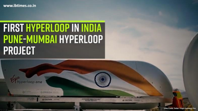 First hyperloop in India, Pune-Mumbai Hyperloop project