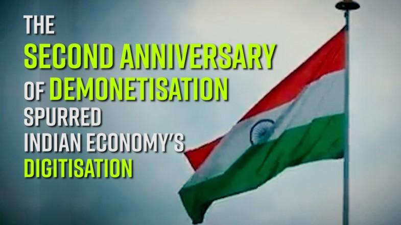 The Second Anniversary of Demonetisation spurred Indian Iconomys Digitisation