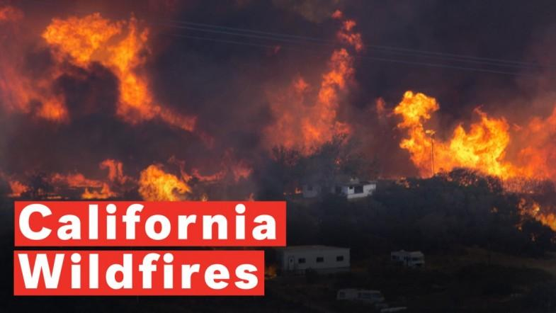 California Wildfires: Fatalities Confirmed As Monster Flames Ravage State