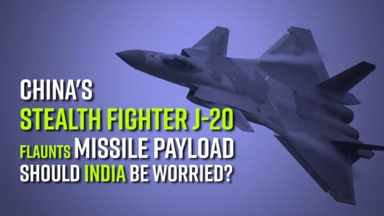 Watch: Chinas stealth fighter J-20 flaunts missile payload: Should India be worried?