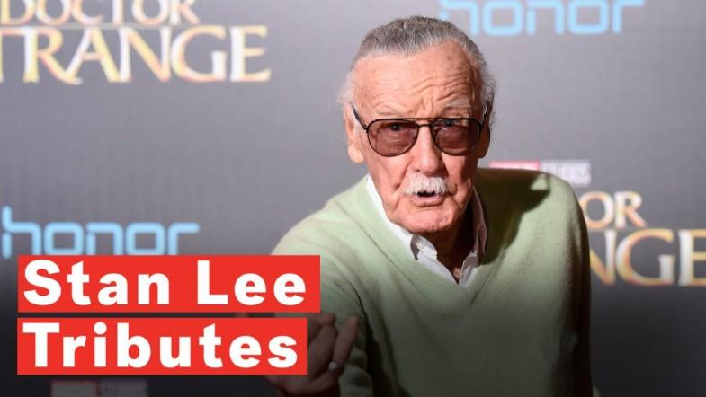 Stars Pay Tribute To Stan Lee