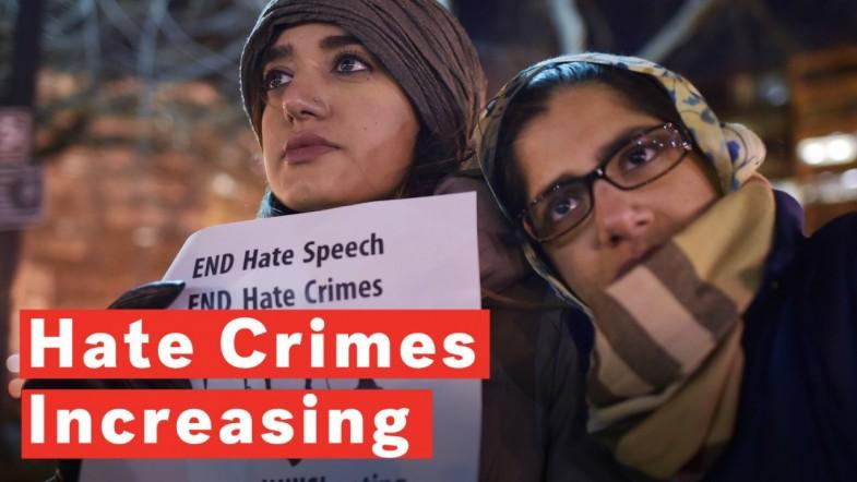 Hate Crimes Increase For Third Consecutive Year, FBI Reports