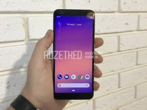 Pixel 3 Lite leaked
