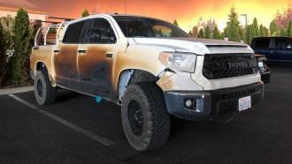 Toyota Tundra of Allyn Pierce
